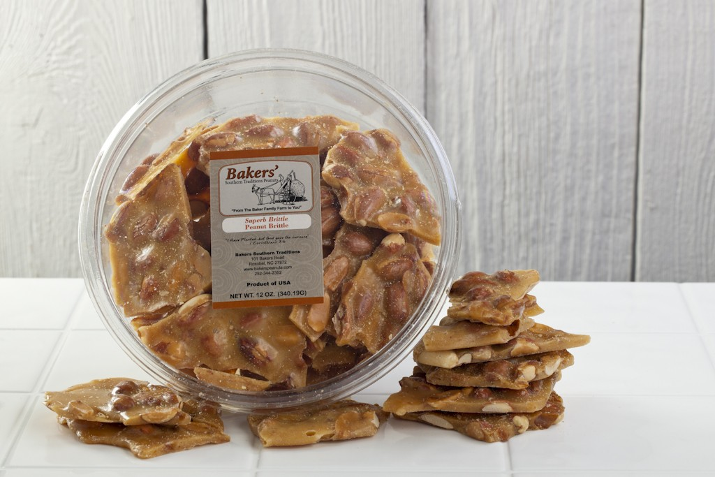 12 oz. peanut brittle