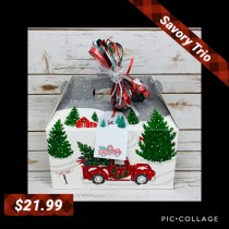 1-901 Red Truck & Christmas Tree