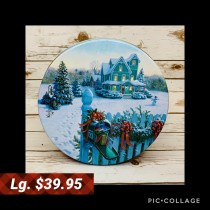 LT-929 Large Tin -  Christmas Mail - $39.95